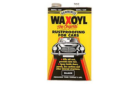 image of Waxoyl Rust Proofing Black 5L