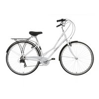 "Pendleton Somerby Hybrid Bike - 19"", White"