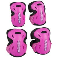 Elektra Knee & Elbow Pads, Pink