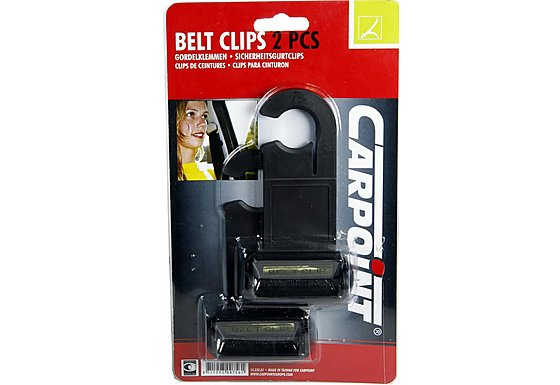 Carpoint Seat Belt Clips x2