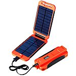 image of Powermonkey Extreme 5V Solar Portable Charger in Red