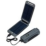 image of Powermonkey Extreme 5V Solar Portable Charger in Grey