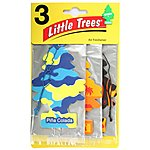 image of Little Tree Hanging Mai Tai, Pina Colada , Flames Pack of 3 Air Freshener