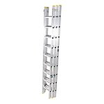 image of Tb Davies Trade Aluminium 3m (9.84ft) Triple Section Extension Ladder