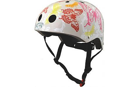 image of Kiddimoto Butterflies Helmet Small