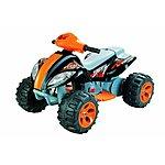image of 6v Quad Bike Style Ride On, Black & Orange