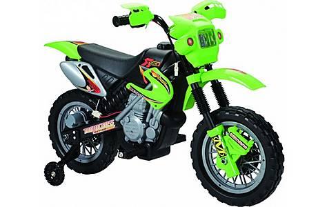image of 6v Kids Dirt Bike Style Ride On, Green