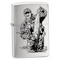 Zippo Windproof Lighter - Fisherman