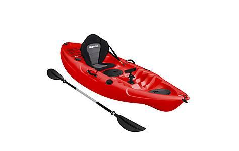 image of Bluewave Sit On Top Single Kayak, Red