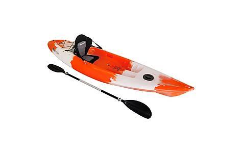 image of Bluewave Sit On Top Single Kayak, Orange & White