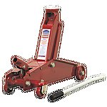 image of Sealey 1153cx Long Chassis Heavy Duty 3 Tonne Yankee Car Van Trolley Jack