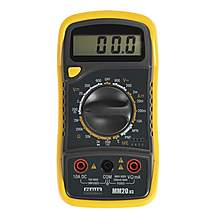 image of Sealey Mm20 Digital 7 Function Ac/dc Multimeter With Thermocouple