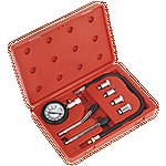 image of Sealey Ct955 Car Motorcycle Petrol Engine Compression Tester Test Tool Gauge Kit