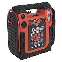 image of Sealey Rs131 Roadstart Emergency Jump Start Power Pack 12v 900 Peak Amps