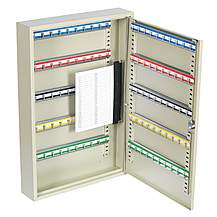 image of Sealey Skc100 Brand New Steel 100 Key Capacity Safe Security Cabinet Box + 2 Keys