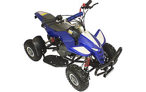 image of 50cc Street Assassin Mini Off-road Petrol Quad Bike, Blue