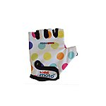 image of Kiddimoto Pastel Dotty Gloves Small