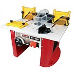 image of Lumberjack Rt1500 1500w Bench Top Router Table With Intergrated Router