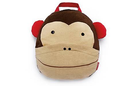 image of Skip Hop Zoo Travel Blanket - Monkey
