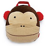 image of Skip Hop Zoo Travel Blanket - Monkey