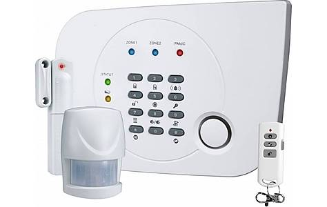 image of Home Alarm System With Integrated Phone Dialer Ha700+