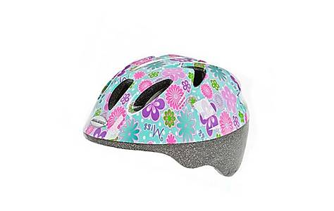 image of Raleigh Girls Rascal Miss Cycle Helmet - Green, 44-50 Cm