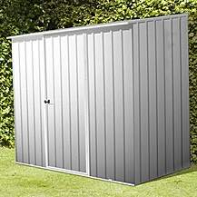 image of 8 x 5 Space Saver Zinc Metal Shed (2.26m x 1.52m)