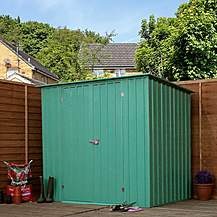 image of 8ft x 6ft Value Pent Metal Shed (2.42m x 1.83m)