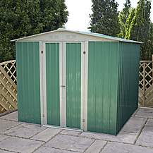 image of 8 x 6 Value Apex Metal Shed (2.42m x 1.83m)