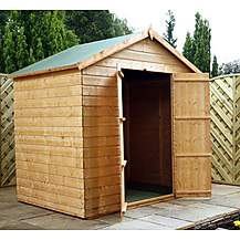 image of 5 x 7 Windowless Tongue & Groove Apex Shed With Double Doors