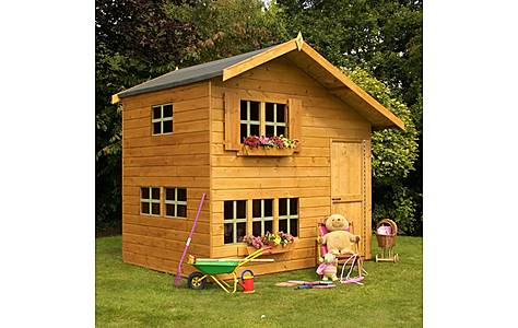 image of Bramble Cottage Playhouse - Double Storey - 8ft X 6ft