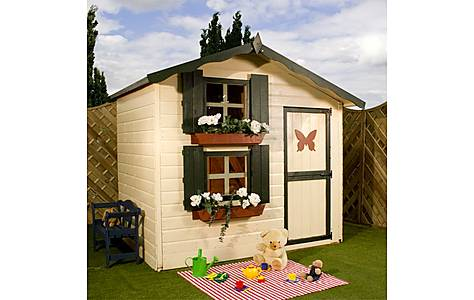 image of Snowdrop Cottage Playhouse - Double Storey - 7ft X 5ft
