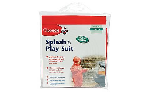 image of Clippasafe Splash & Play Child Wet Suit (red 110cm)