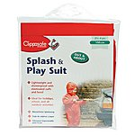 image of Clippasafe Splash & Play Child Wet Suit (red 110cm)