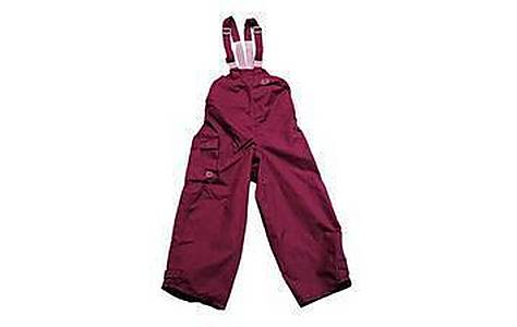 image of Hippychick Plum Waterproof Dungarees 12-18 Months
