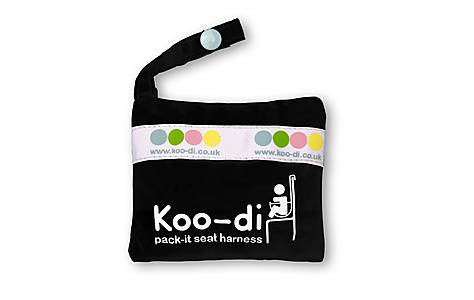 image of Koo-di Pack It Baby Seat Harness In Black