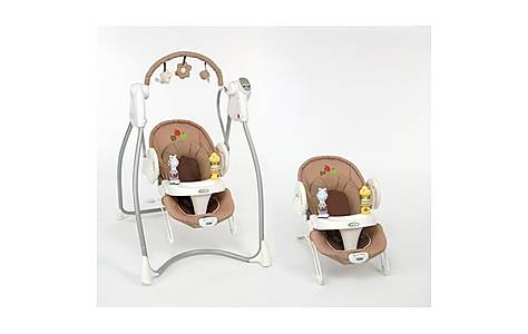 image of Graco Swing n Bounce Baby Bouncer Apple