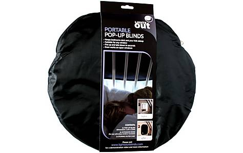 image of Lights Out Portable Blackout Blinds 2 Pack