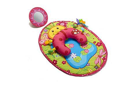 image of Tiny Love Tummy Time Ladybug Playmat
