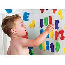image of Munchkin Bath Toy Letters And Numbers
