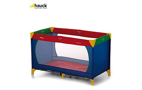image of Hauck Travel Cot Dream N Play Multicolour