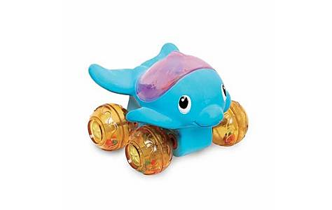 image of Munchkin Wet Wheels Baby Bath Toy - Dolphin