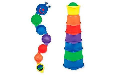 image of Munchkin Caterpillar Spillers Baby Bath Toy