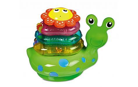 image of Munchkin Snail Stacker Bath Toy