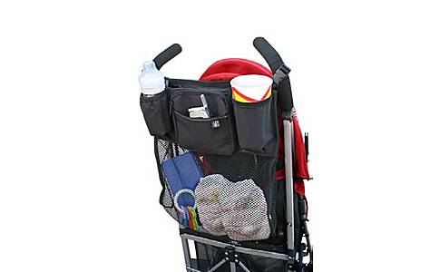 image of Jl Childress Cups n Cargo Stroller Organiser For Newborn And Above
