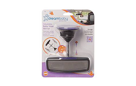 image of Dreambaby Deluxe Adjustable Baby View Mirror
