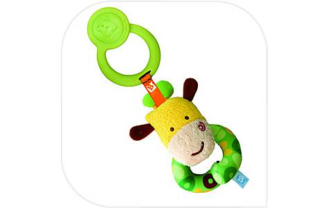 image of Bkids Loop Around Wrist Rattle Baby Toy
