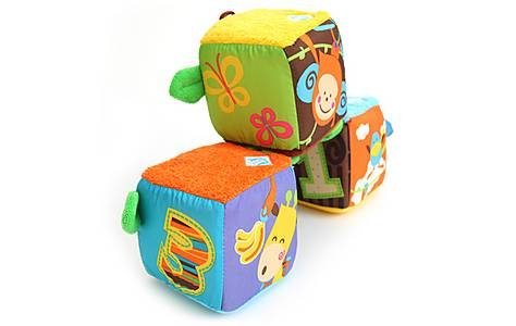 image of Bkids Linkn Build Blocks Baby Toy