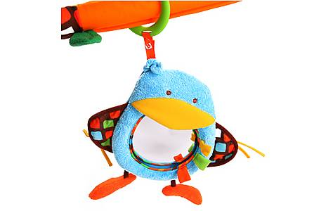 image of Bkids Activity Mirror Baby Toy