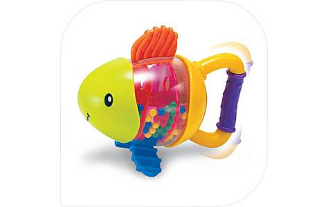 image of Bkids Sand Fish Baby Rattle